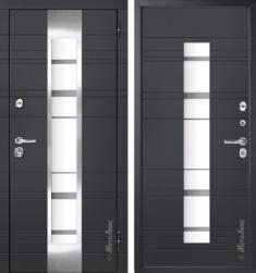 Металлическая дверь Металюкс М66  с терморазрывом