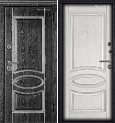 Металлическая дверь Металюкс М71/3