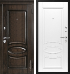 Металлическая дверь Металюкс М71/4