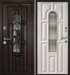 Стальная дверь Металюкс СМ60/2