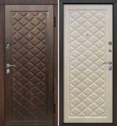 Металлическая дверь Гарда Камелот Беленый дуб