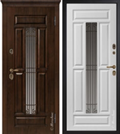 Металлическая дверь Металюкс СМ762/1
