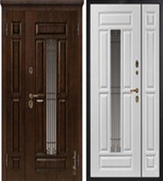 Металлическая дверь Металюкс СМ862/1 с капителью