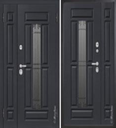 Металлическая дверь Металюкс СМ862/2 с капителью