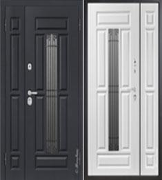 Металлическая дверь Металюкс СМ862/3 с капителью