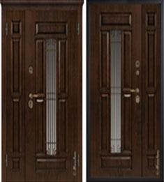 Металлическая дверь Металюкс СМ862 с капителью