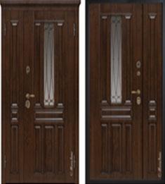 Металлическая дверь Металюкс СМ863 с капителью
