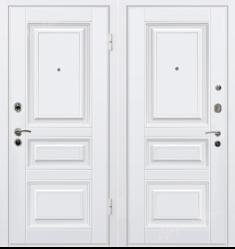 Металлическая дверь МеталЮр М11 Белый
