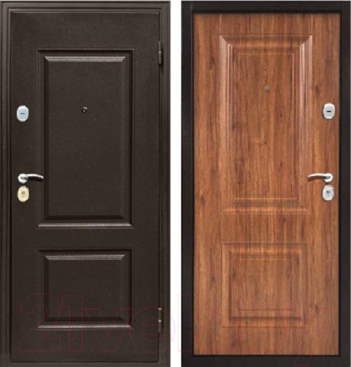 Металлическая дверь Магна КЛАССИКА (Античный орех)