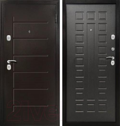 Металлическая дверь Магна ЙОРК (Венге)