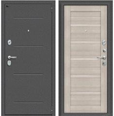 Металлическая дверь Porta S 104.П22 Антик Серебро/Cappuccino Veralinga