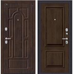 Металлическая дверь Porta S 55.K12 Almon 28/Dark Oak