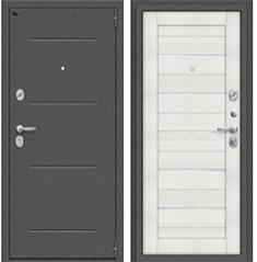 Металлическая дверь Porta S 104.П22 Антик Серебро/Bianco Veralinga