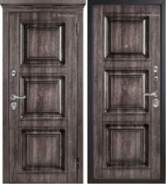 Металлическая дверь Металюкс М705/4 с капителью
