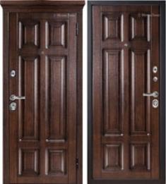 Металлическая дверь Металюкс М706/2 с капителью