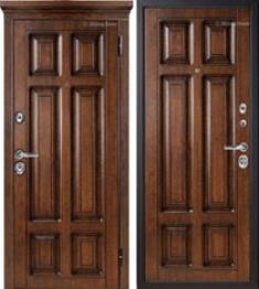 Металлическая дверь Металюкс М706/4 с капителью