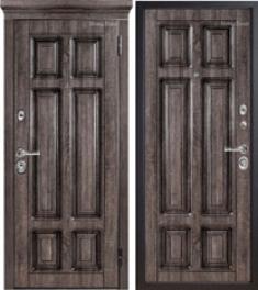 Металлическая дверь Металюкс М706 с капителью