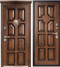Металлическая дверь Металюкс М707/3 с капителью
