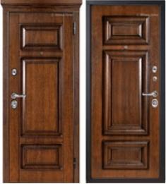 Металлическая дверь Металюкс М708 с капителью