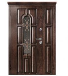 Стальная дверь Металюкс М860 с капителью