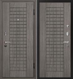 Металлическая дверь МеталЮр М4 Грей