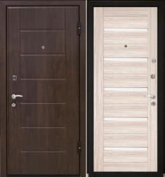 Металлическая дверь МаталЮр М7 Капучино мелинга