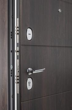 Металлическая дверь Porta S 4.П50 (IMP-6) Almon 28/Cappuccino Veralinga