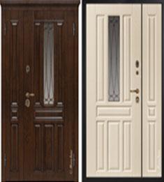 Металлическая дверь Металюкс М863/1 с капителью
