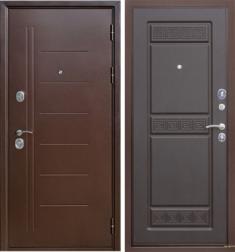 Металлическая дверь Гарда Троя антик Венге