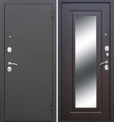 Металлическая дверь Гарда Царское зеркало Венге